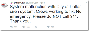 Dallas siren system hacked