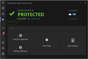 Bitdefender autopilot security