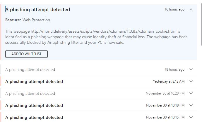 Bitdefender keeping you safe from phishing