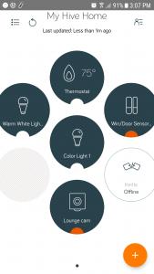 Hive Security Camera Hive App feature #shop #ces2018 #smarthome