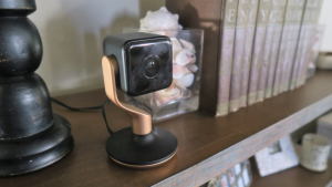 Hive Security Camera grab and go feature #shop #ces2018 #smarthome