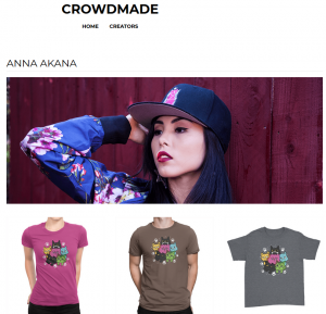 crowdmade anna akana merch