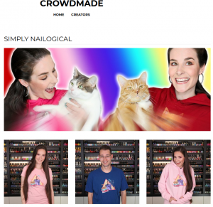crowdmade simply nailogical merch