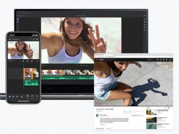 Adobe Premiere Rush CC app