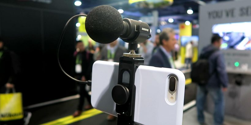 Shure MV88+ kit cell phone mic review